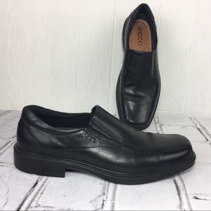 ECCO Leather Dress Shoes Slip On Like New 11/11.5